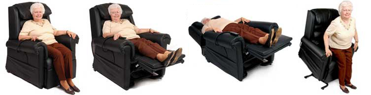 Infinite Position Lift Chairs or Zero Gravity Lift Chairs